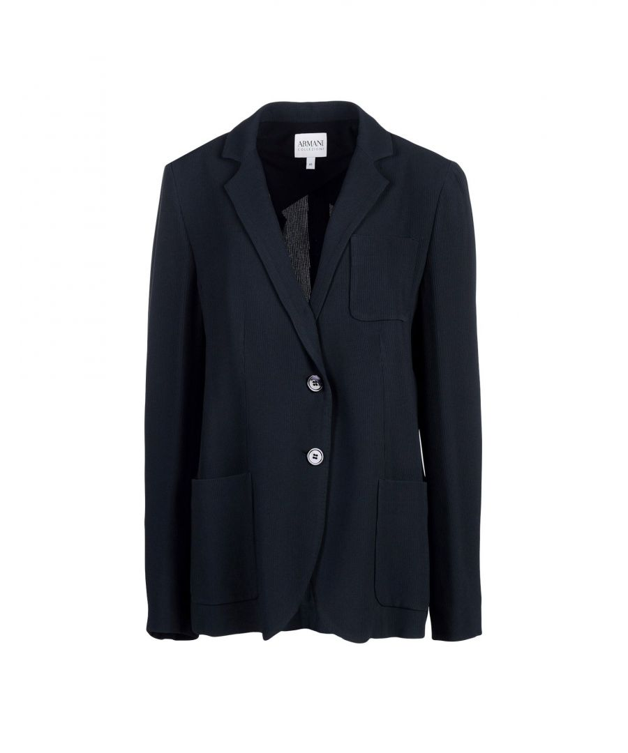 Image for Armani Collezioni Dark Blue Blazer