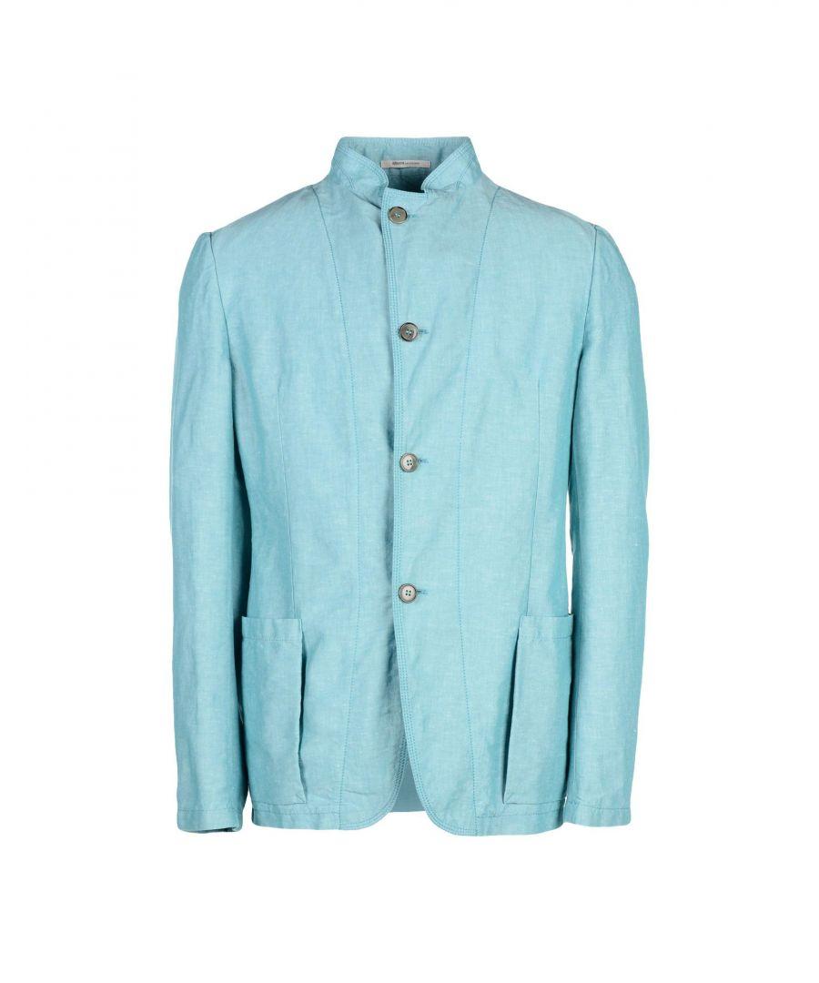 Image for Armani Collezioni Light Green Linen Jacket