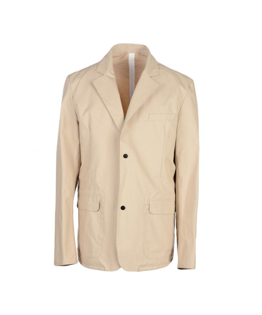Image for Emporio Armani Beige Cotton Jacket
