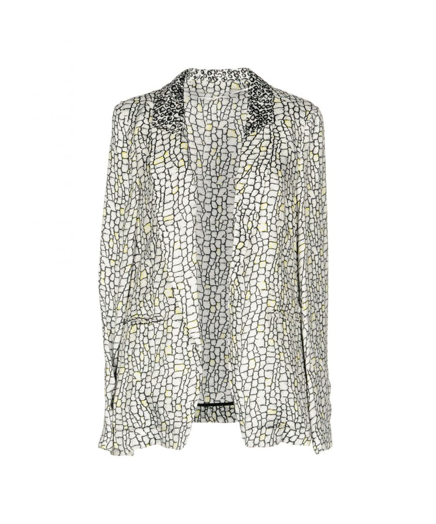 Image for Pinko Light Grey Print Jacket