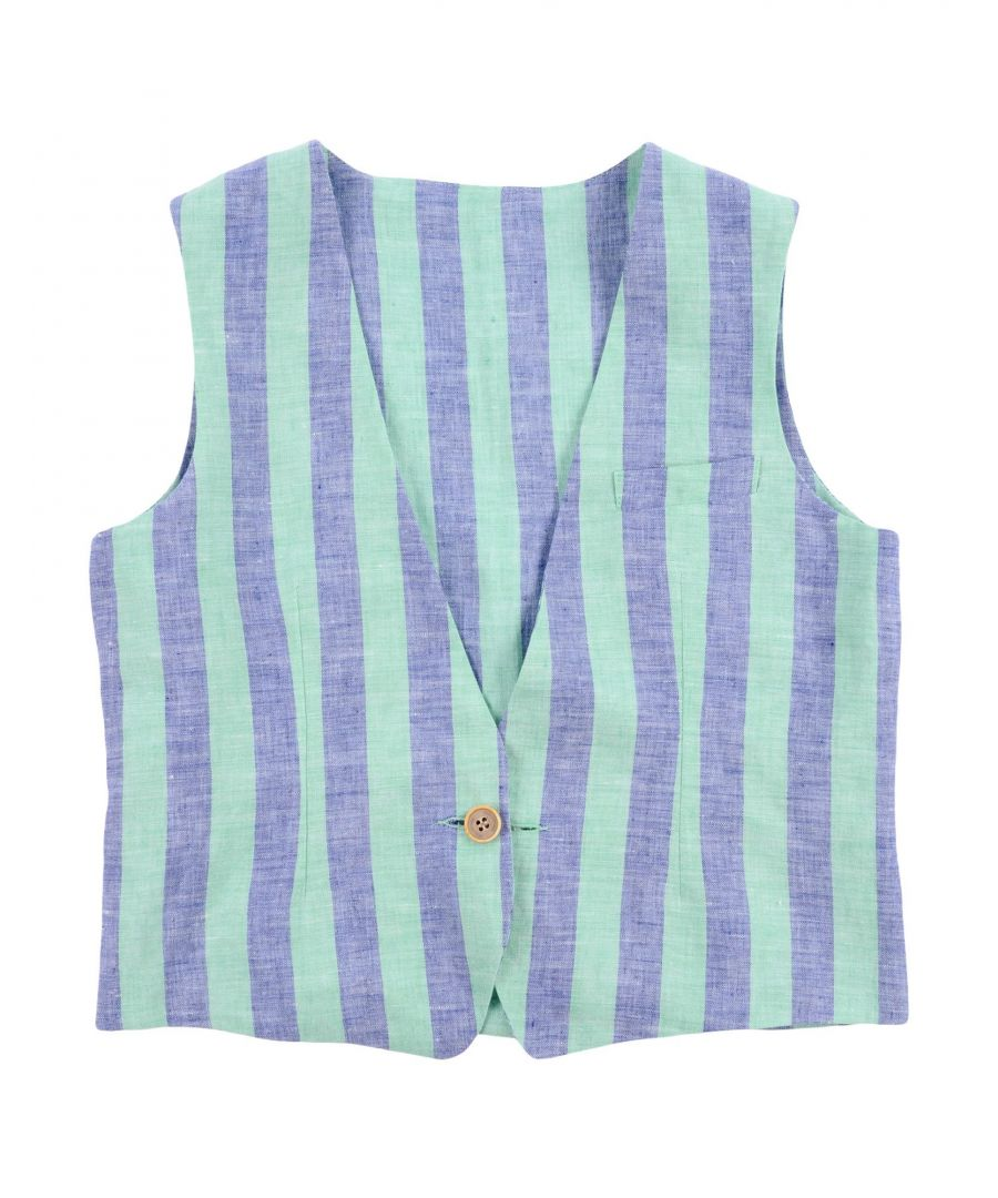Image for SUITS AND JACKETS Tagliatore Light green Boy Linen