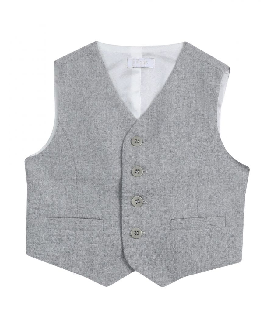 Image for SUITS AND JACKETS Il Gufo Light grey Boy Polyester