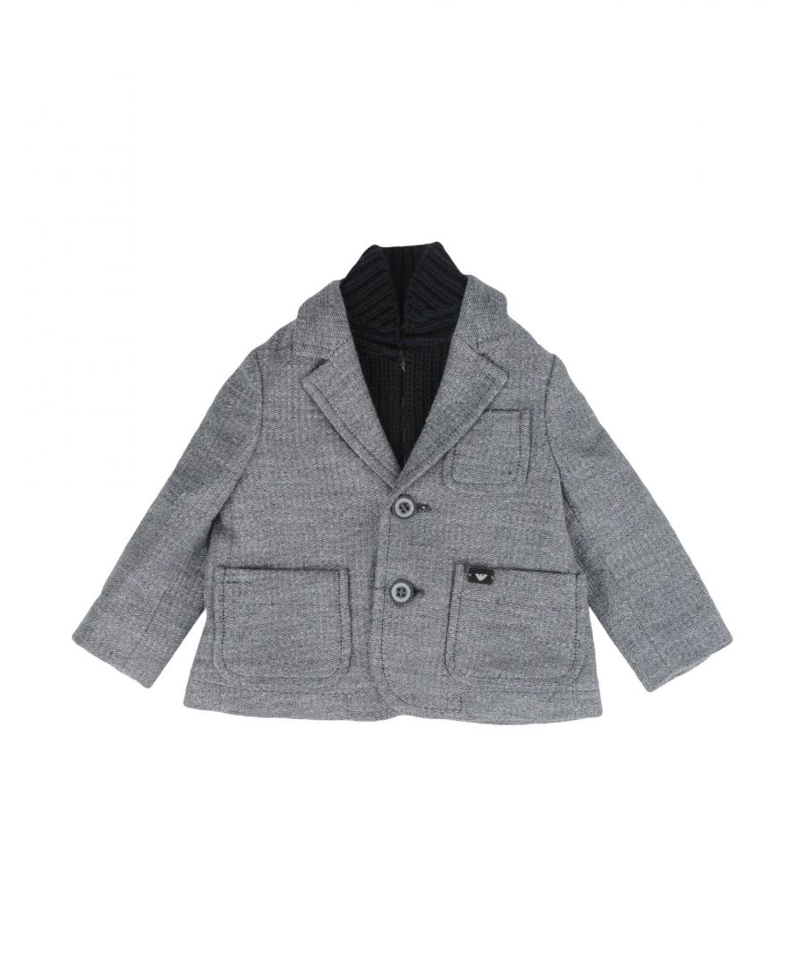 Image for SUITS AND JACKETS Armani Junior Lead Boy Cotton