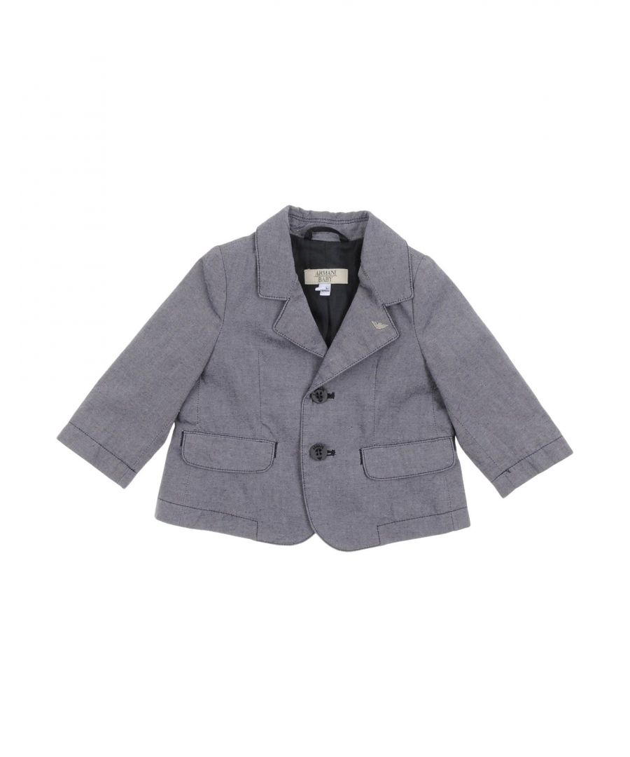 Image for SUITS AND JACKETS Armani Junior Blue Boy Cotton