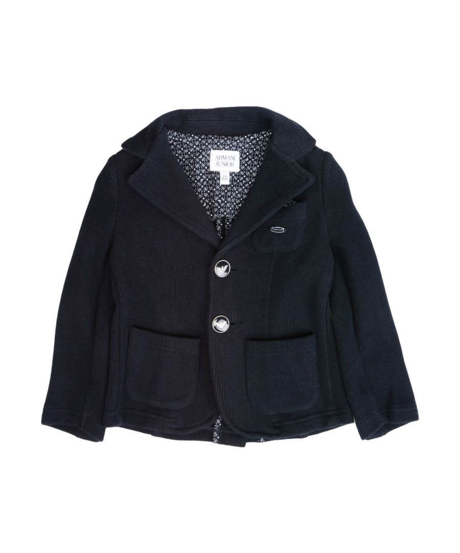 Image for SUITS AND JACKETS Armani Junior Dark blue Boy Cotton