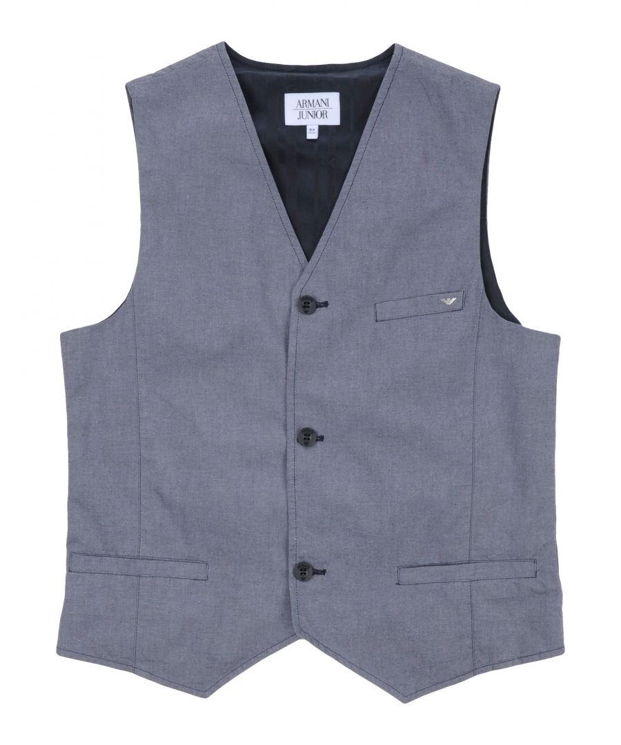 Image for SUITS AND JACKETS Armani Junior Slate blue Boy Cotton