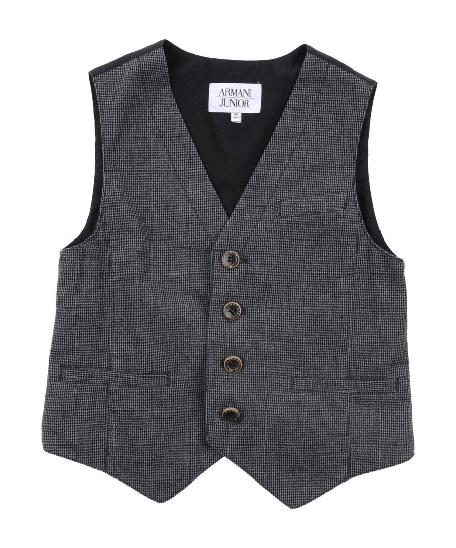 Image for SUITS AND JACKETS Armani Junior Steel grey Boy Cotton