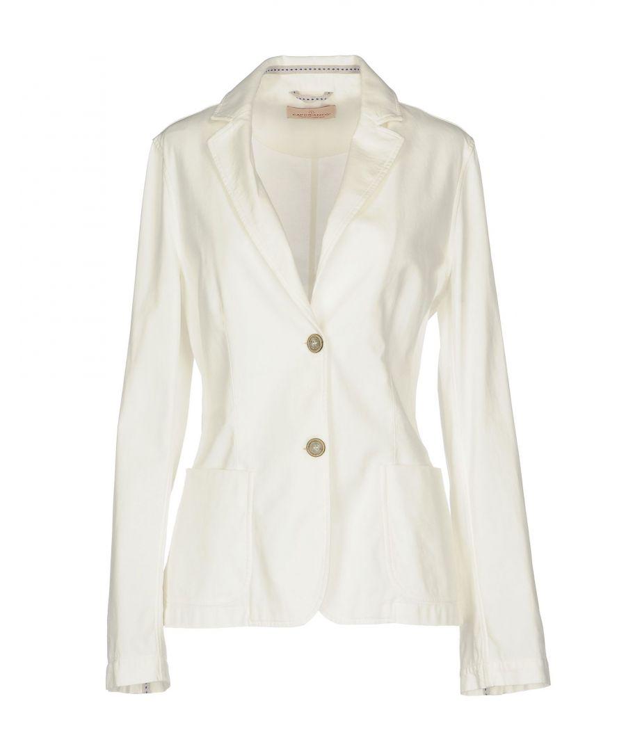 Image for Capobianco White Cotton Blazer