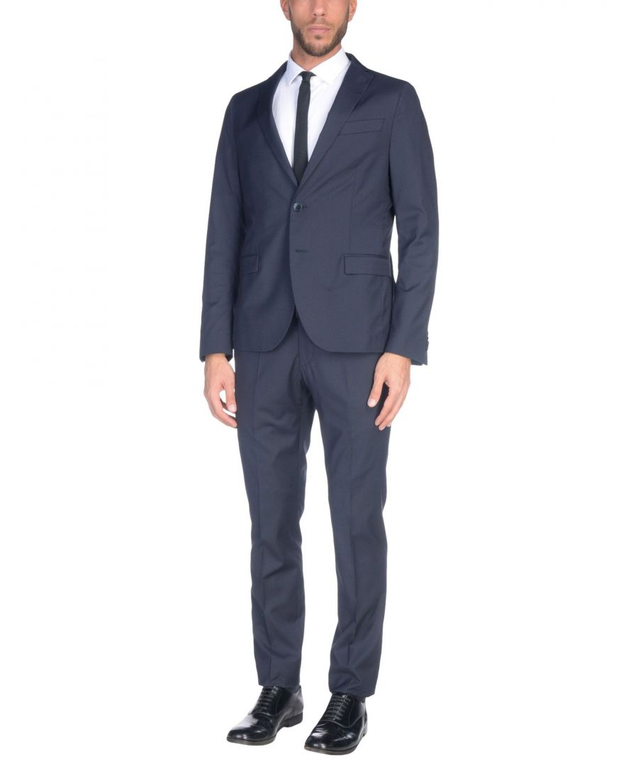 Image for Manuel Ritz Dark Blue Single Breasted Suit