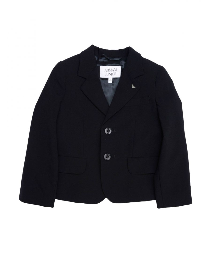 Image for SUITS AND JACKETS Armani Junior Dark blue Boy Virgin Wool