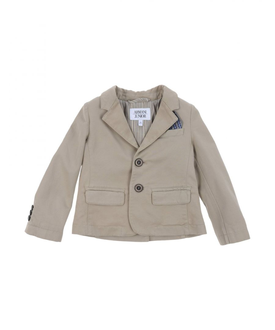 Image for SUITS AND JACKETS Armani Junior Beige Boy Cotton