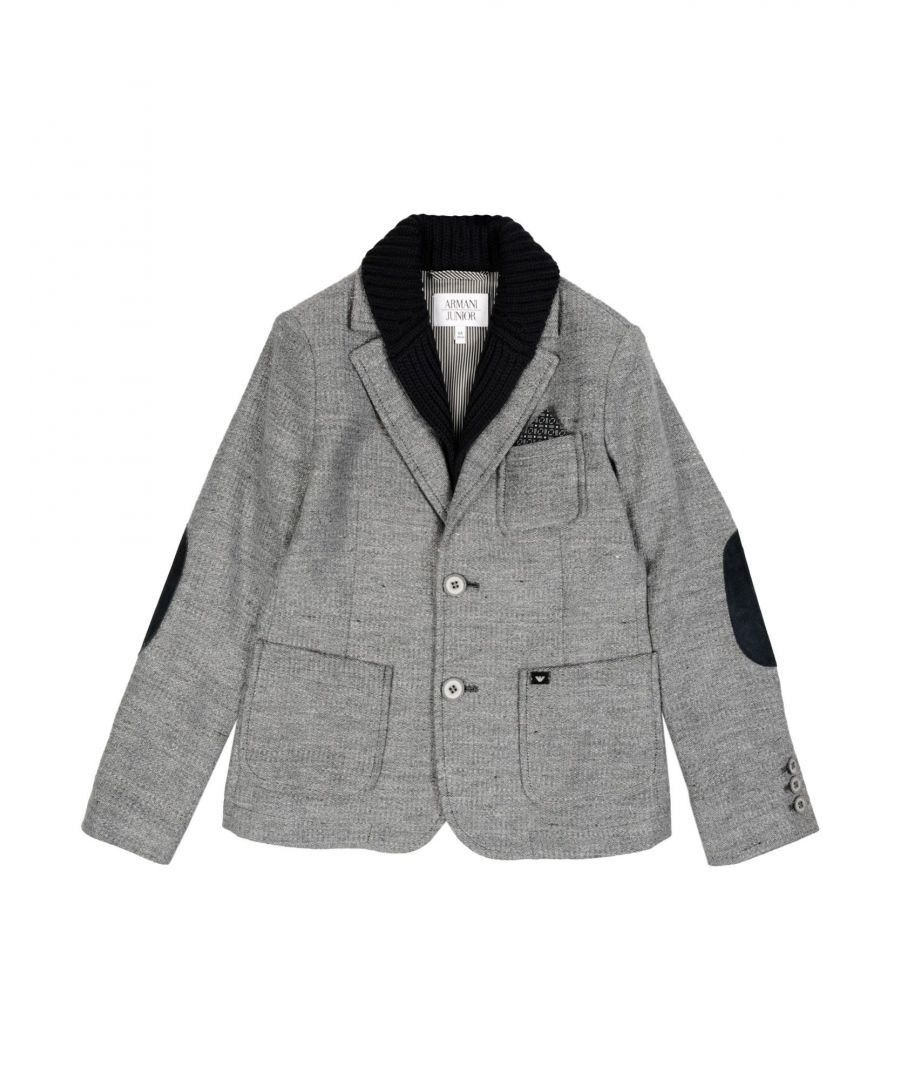 Image for SUITS AND JACKETS Armani Junior Grey Boy Cotton