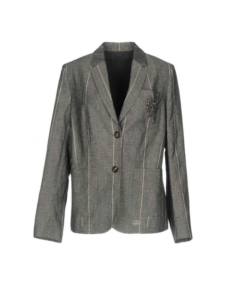 Image for SUITS AND JACKETS Brunello Cucinelli Grey Woman Virgin Wool
