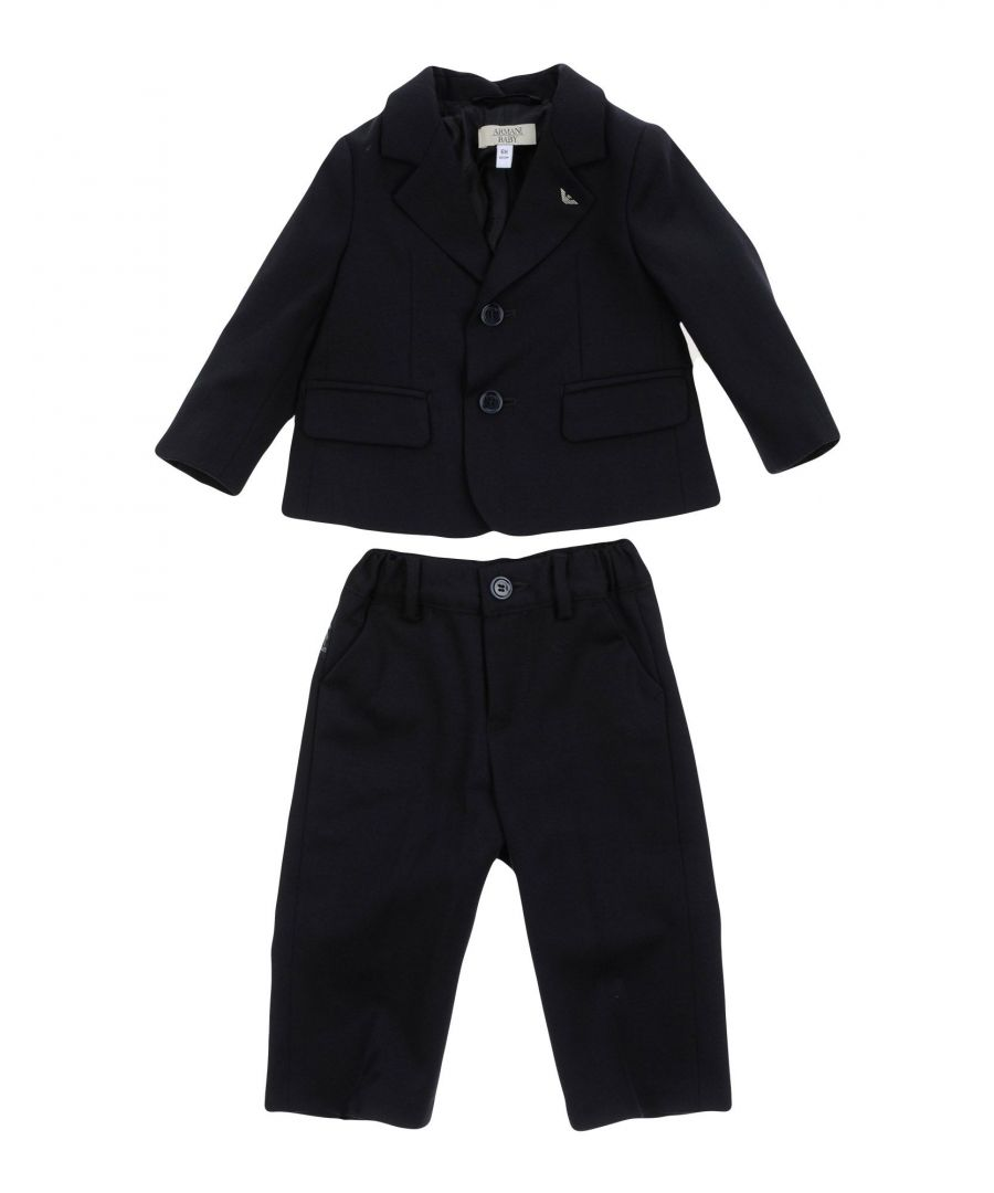 Image for SUITS AND JACKETS Armani Junior Dark blue Boy Wool