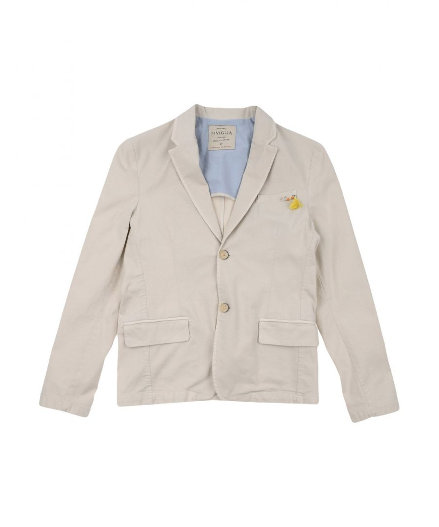 Image for SUITS AND JACKETS Siviglia Beige Boy Cotton