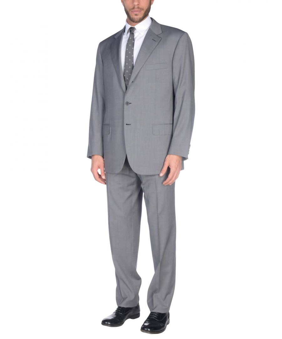 Image for Brioni Grey Wool Suit