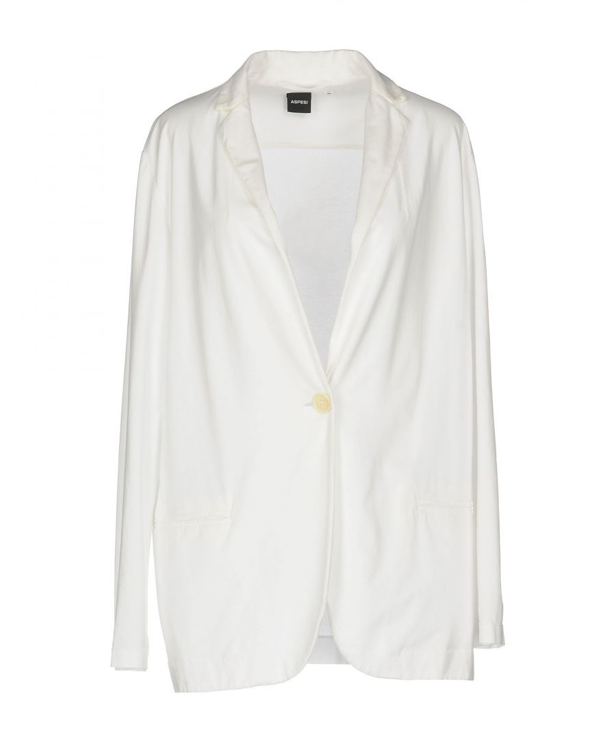 Image for SUITS AND JACKETS Aspesi White Woman Cotton