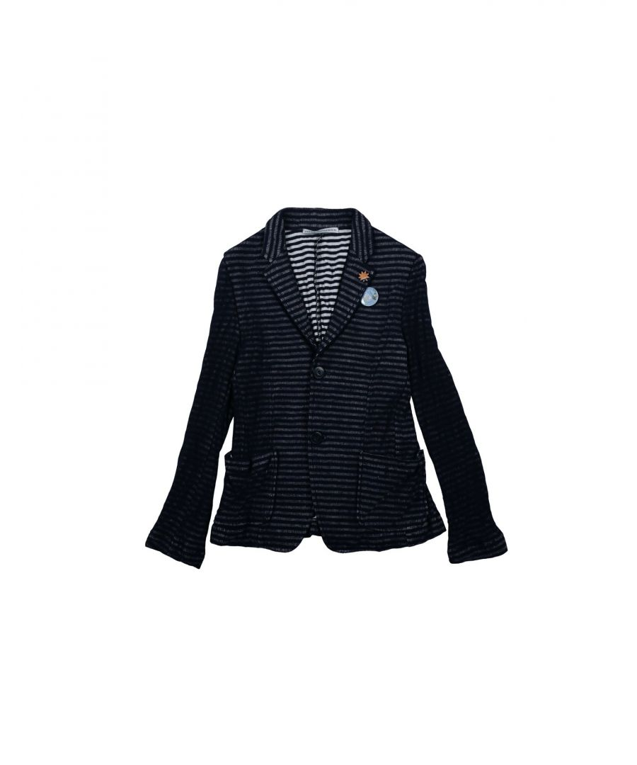 Image for SUITS AND JACKETS Daniele Alessandrini Dark blue Boy Cotton