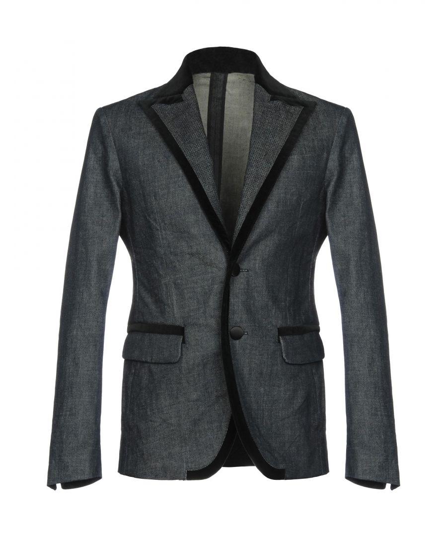 Image for Dsquared2 Blue Cotton Jacket