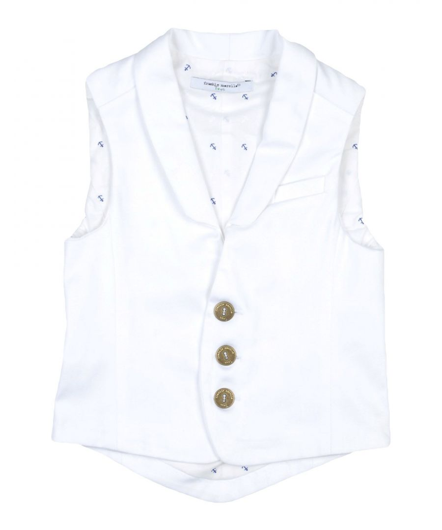 Image for SUITS AND JACKETS Frankie Morello White Boy Cotton