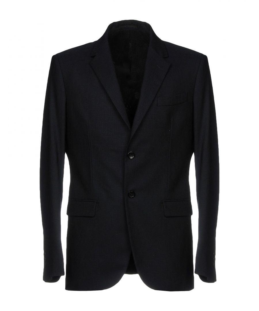 Image for Department 5 Dark Blue Virgin Wool Single Breasted Jacket