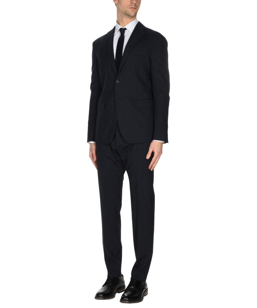 Image for Dsquared2 Dark Blue Virgin Wool Single Breasted Suit