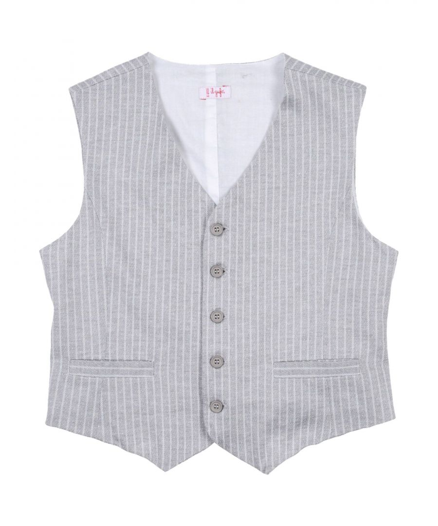 Image for SUITS AND JACKETS Il Gufo Light grey Boy Cotton