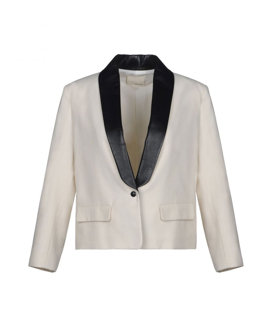 Image for Band Of Outsiders Ivory Cotton Smoking Jacket