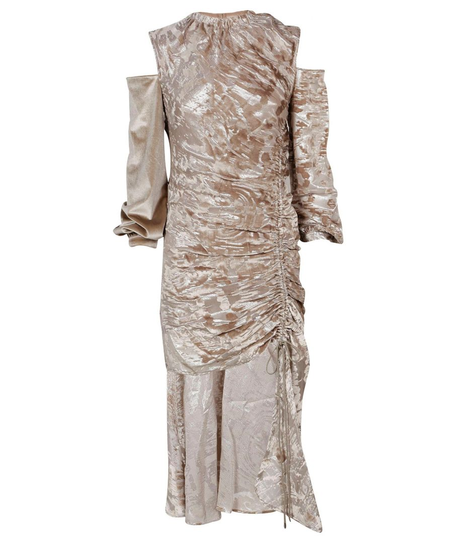 Image for SELF-PORTRAIT WOMEN'S SP15034GREY GREY VISCOSE DRESS