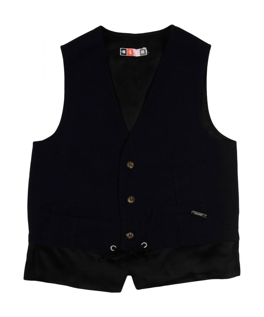 Image for SUITS AND JACKETS Boy Msgm Dark blue Polyester