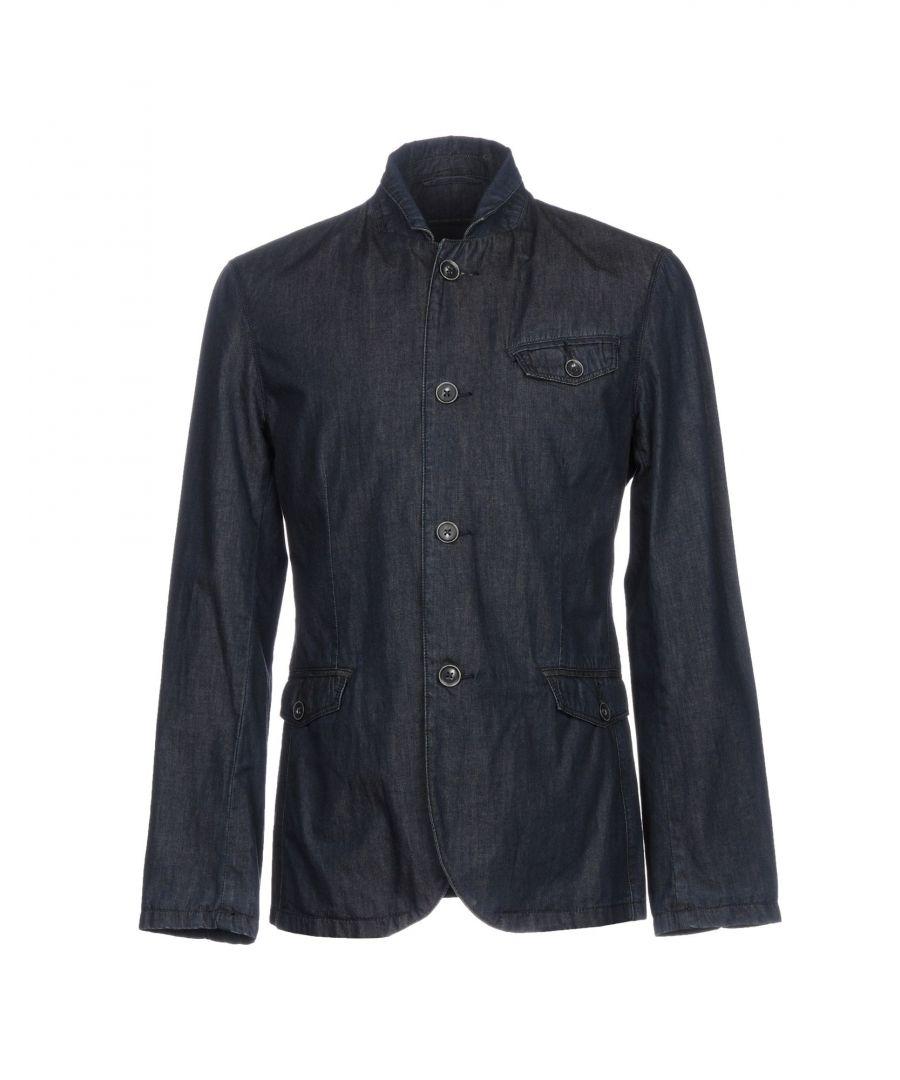 Image for John Varvatos U.S.A. Blue Denim Jacket