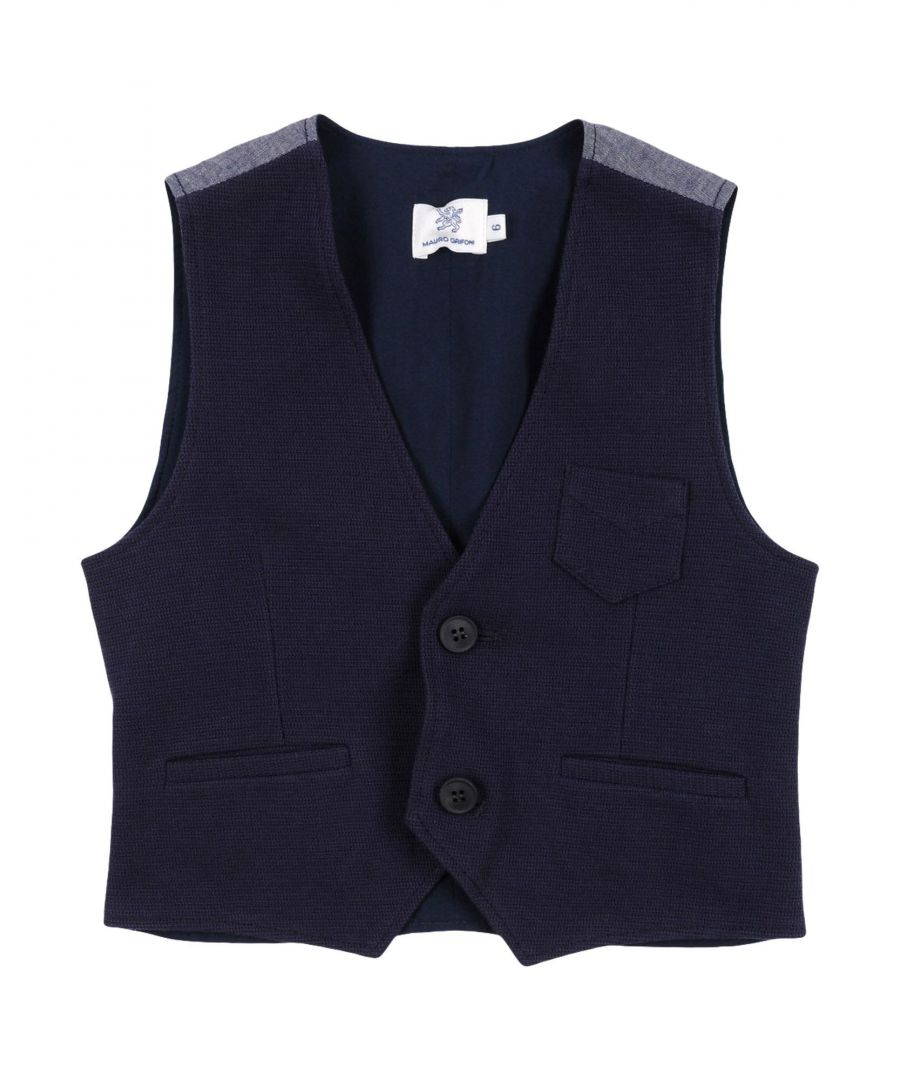 Image for SUITS AND JACKETS Mauro Grifoni Dark blue Boy Cotton