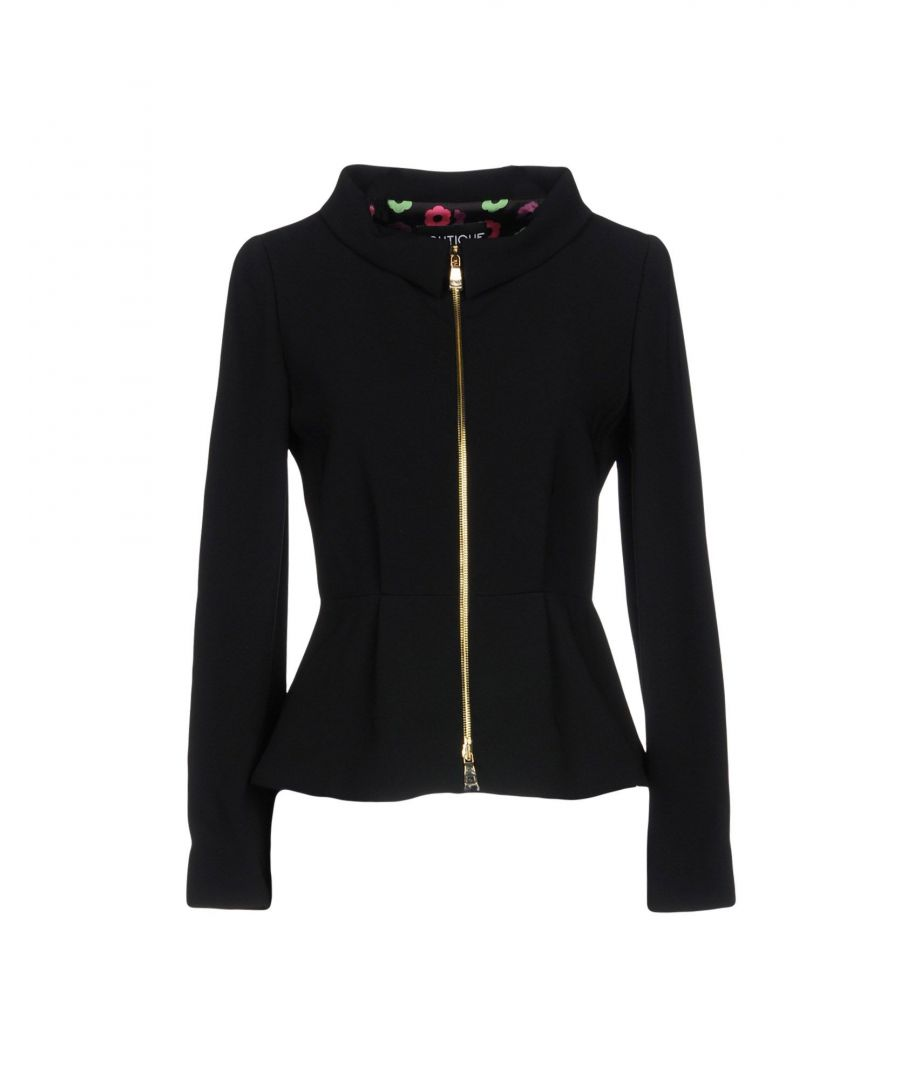 Image for Boutique Moschino Black Crepe Jacket