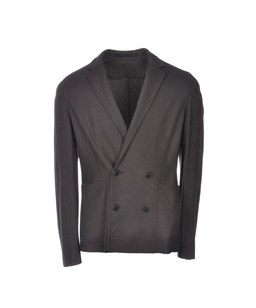 Image for Giorgio Armani Brown Cashmere Double Breasted Jacket