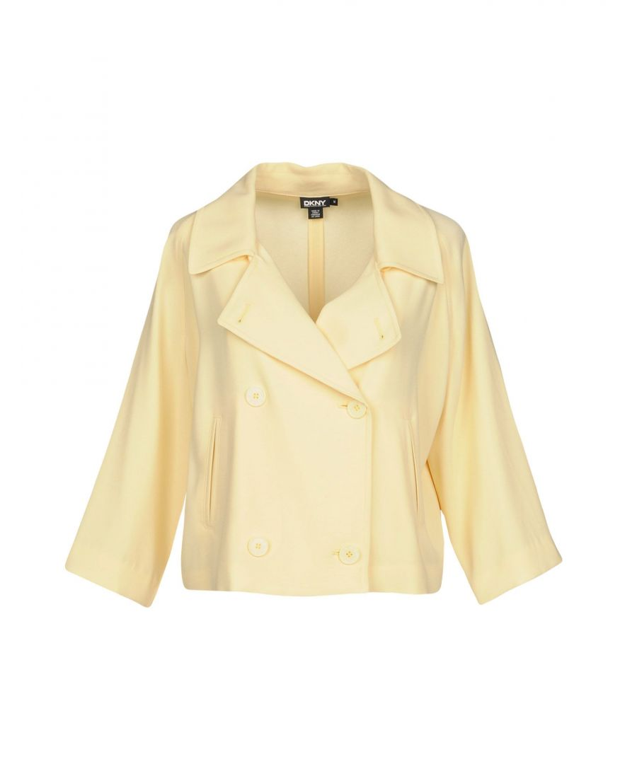 Image for SUITS AND JACKETS Dkny Yellow Woman Triacetate