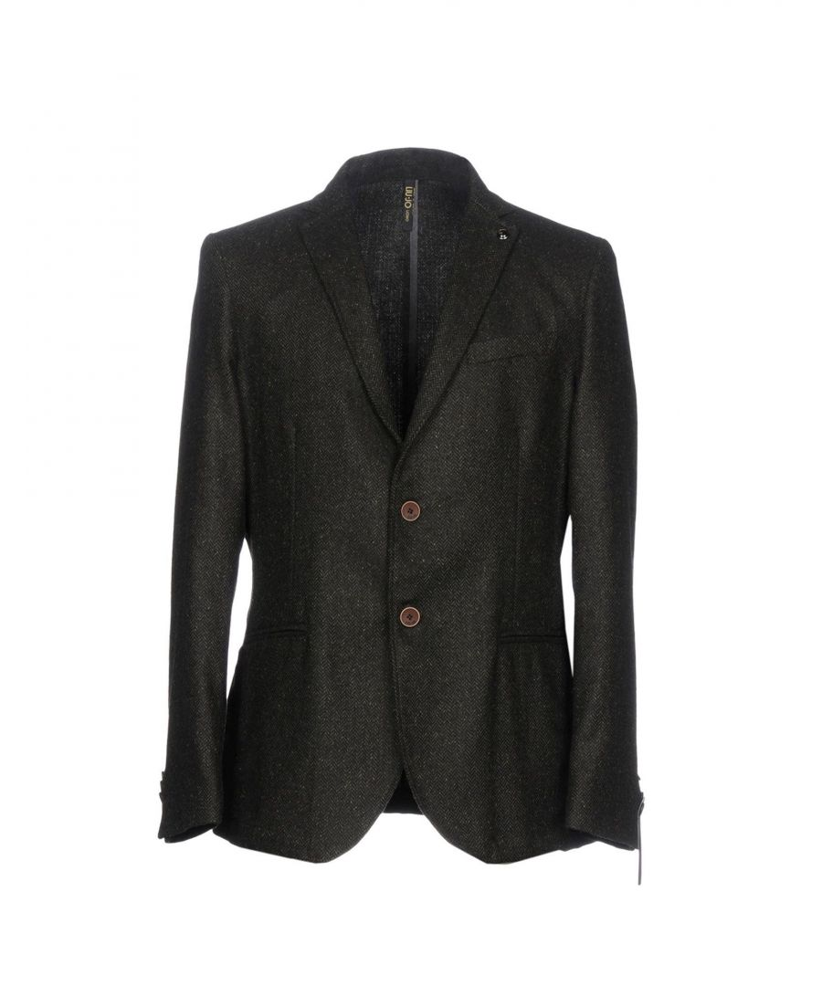 Image for Liu •Jo Man Dark Green Herringbone Single Breasted Jacket
