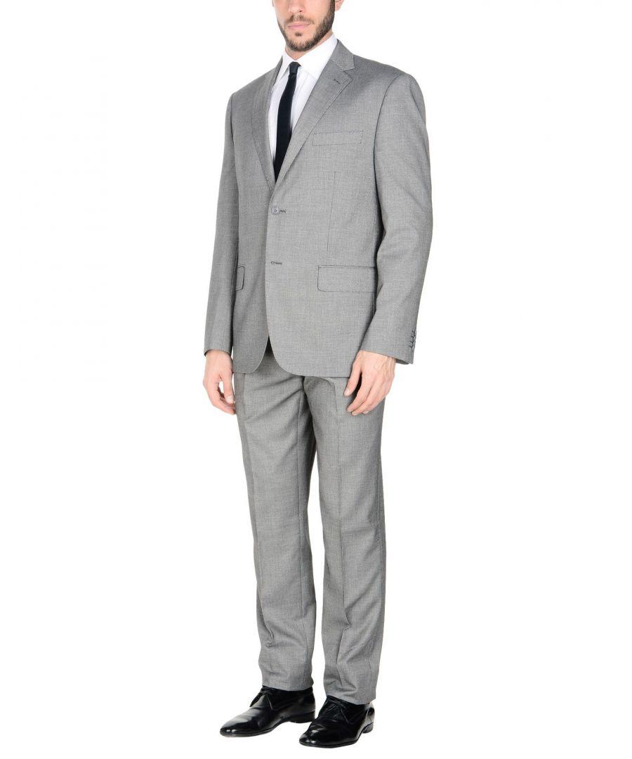 Image for Tru Trussardi Grey Single Breasted Suit