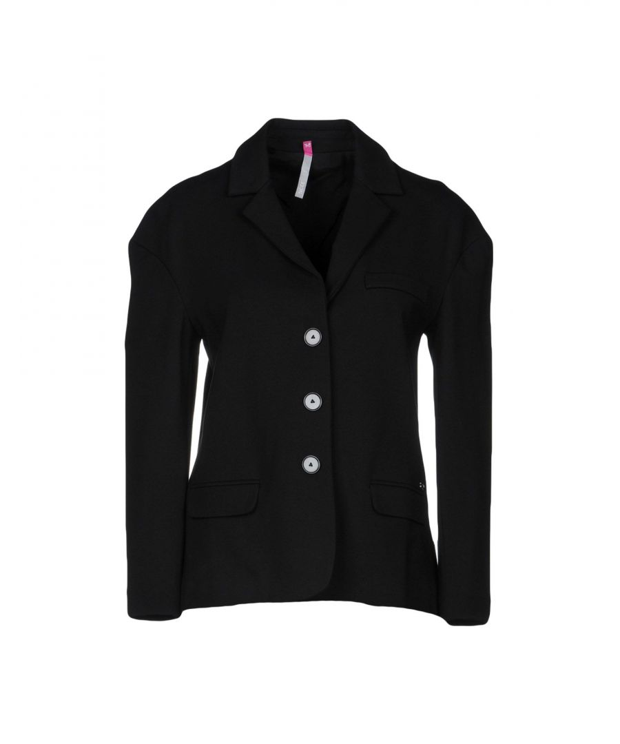 Image for Scee By Twinset Black Single Breasted Jacket