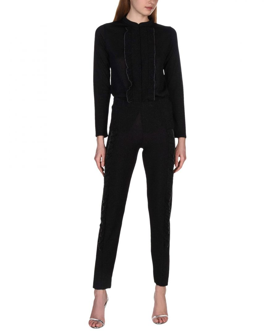 Image for SUITS AND JACKETS Woman Circus Hotel Black Acetate