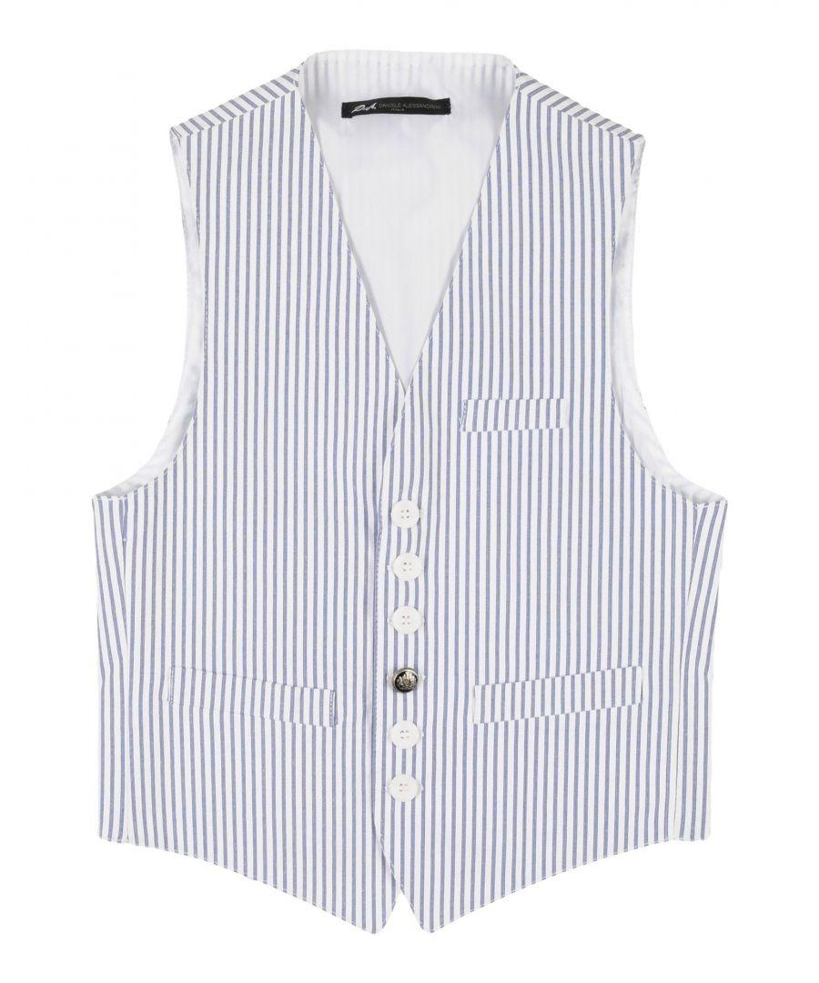 Image for Daniele Alessandrini White Boy Cotton Vest