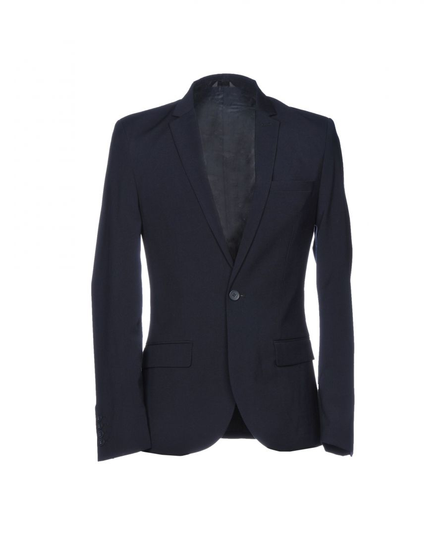 Image for Only & Sons Dark Blue Single Breasted Blazer