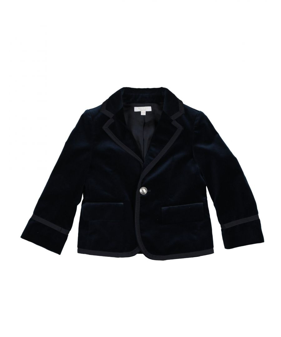 Image for SUITS AND JACKETS Boy Gucci Dark blue Cotton