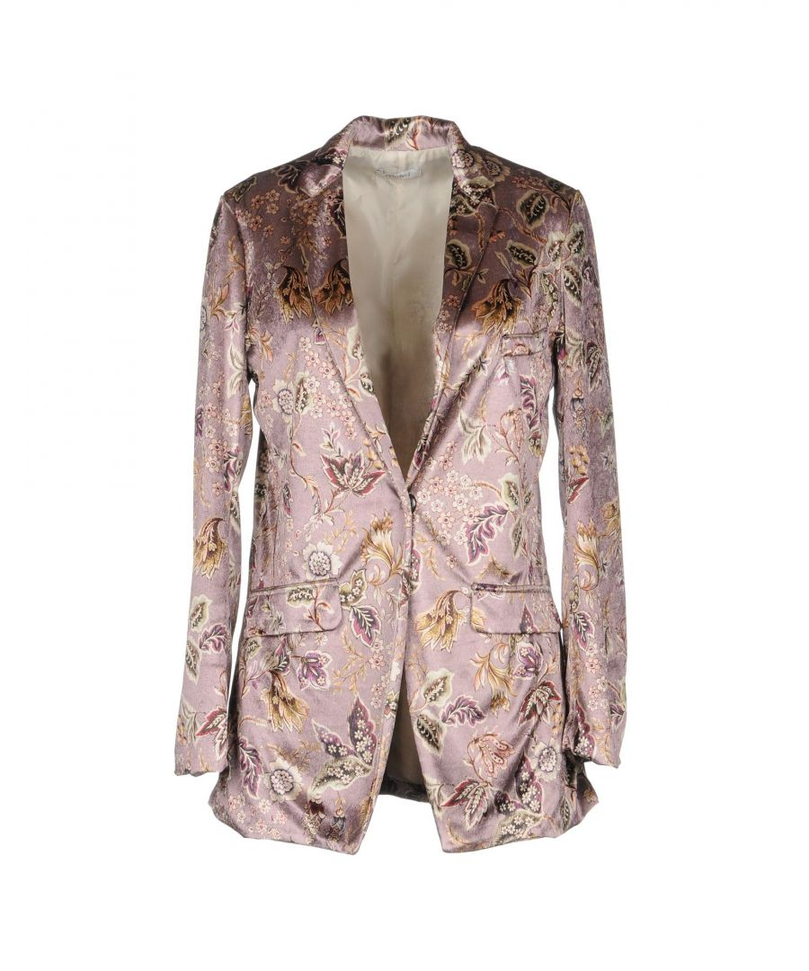 Image for Motel Pastel Pink Print Single Breasted Jacket