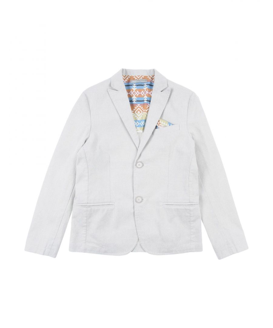 Image for SUITS AND JACKETS Daniele Alessandrini Light grey Boy Cotton