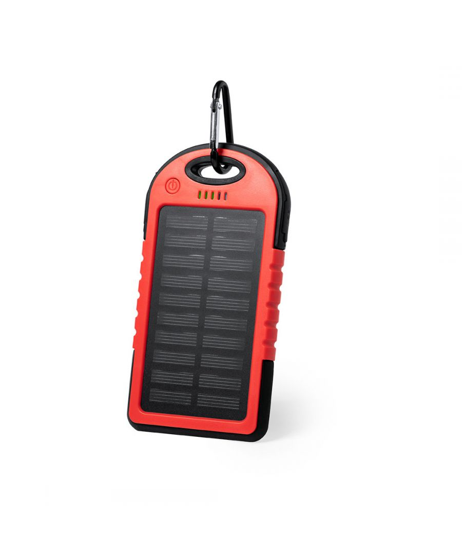 Image for Power Bank Solar Red