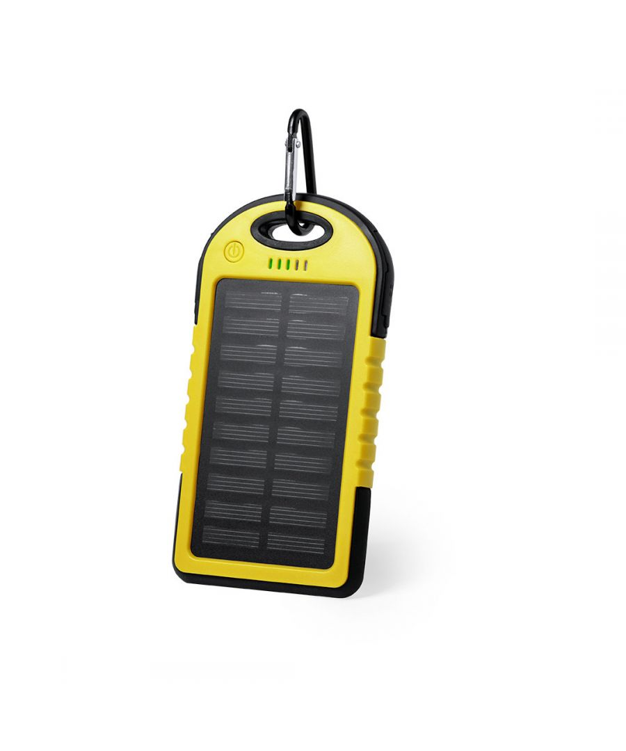 Image for Power Bank Solar Yellow