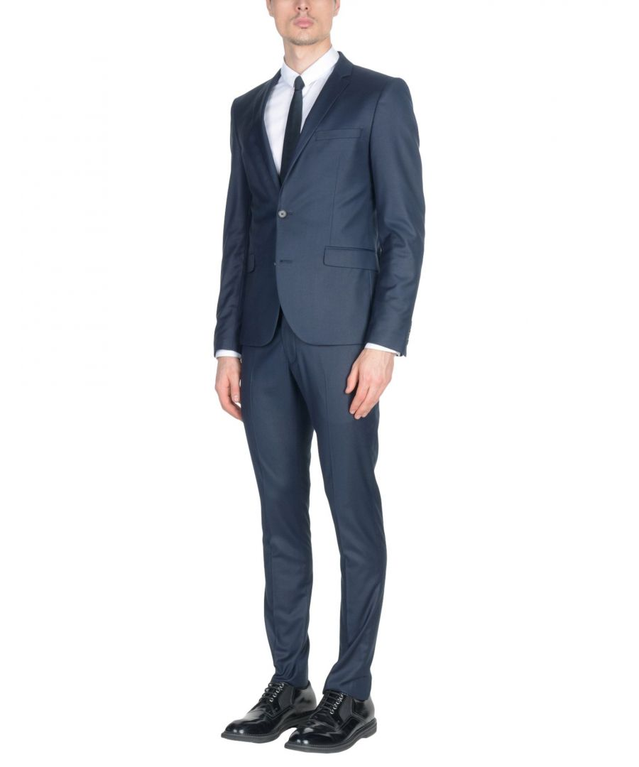 Image for Selected Homme Dark Blue Single Breasted Suit