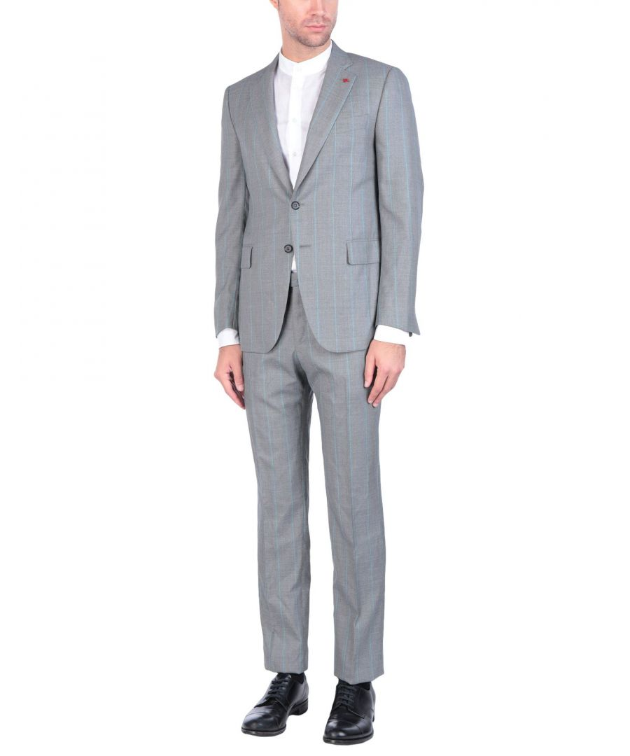 Image for Isaia Light Grey Wool Suit
