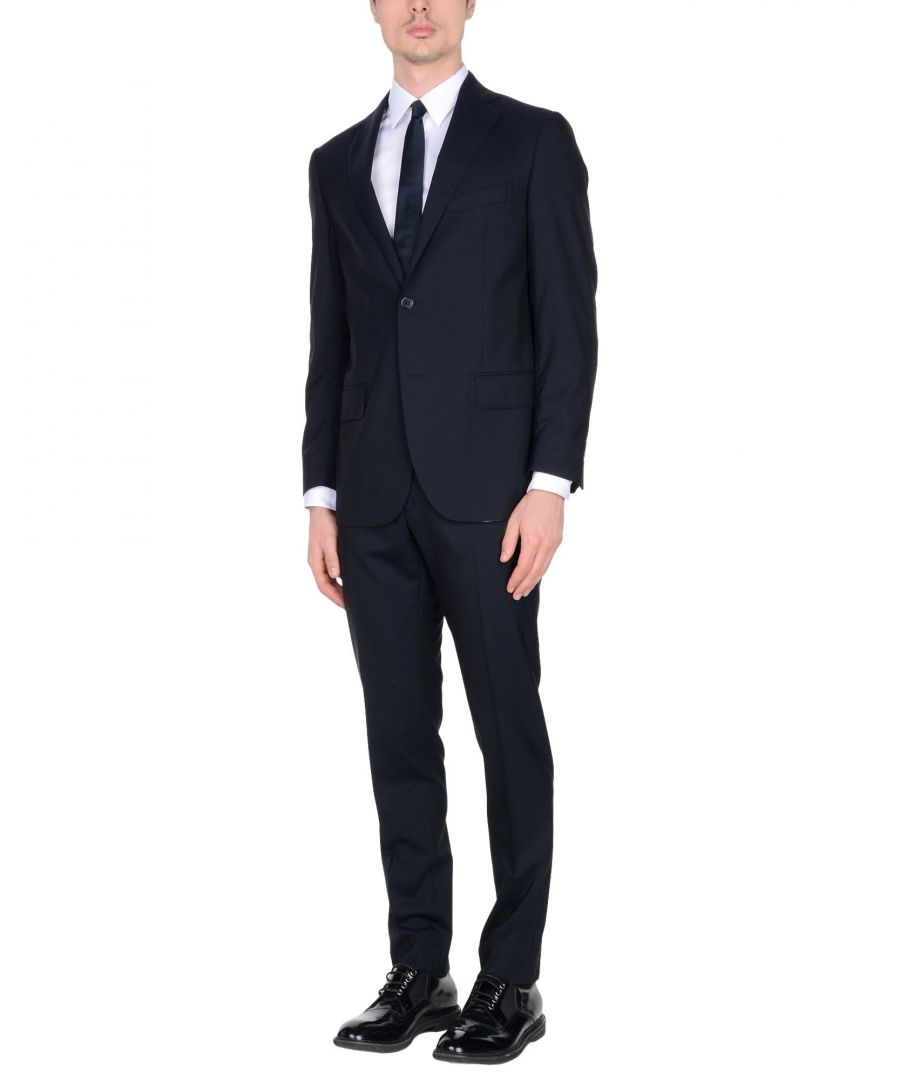 Image for Gajola Black Wool Single Breasted Suit