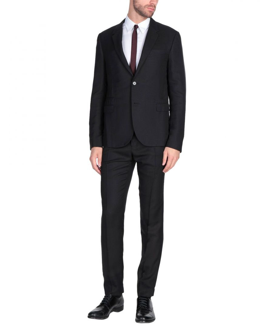 Image for Valentino Black Single Breasted Suit